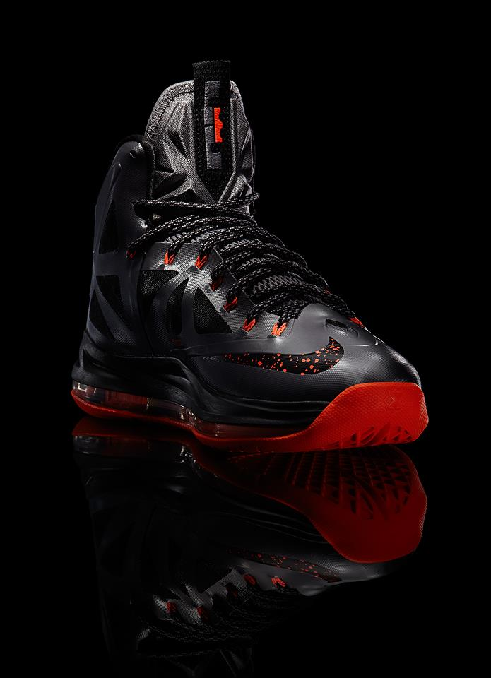 Nike LeBron X (10) 'Lava' - Official Images