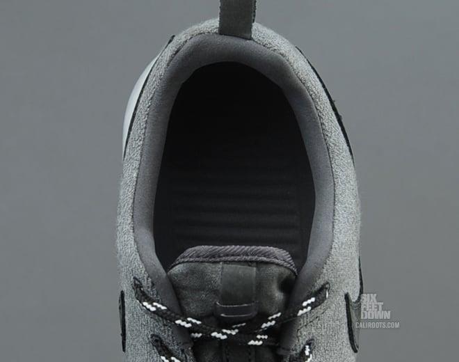 Nike Roshe Run Premium NRG 'Anthracite/Anthracite-Metallic Platinum' at Caliroots SFD