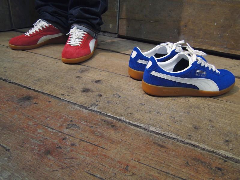 PUMA Shadow Society  Red Star  and  Blue Star  at Foot Patrol ... be9f58e8b3