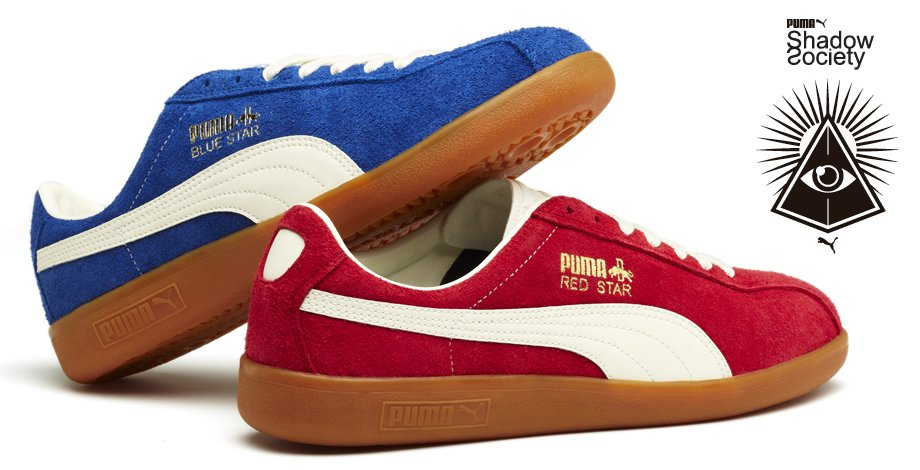 PUMA Shadow Society 'Red Star' and 'Blue Star'