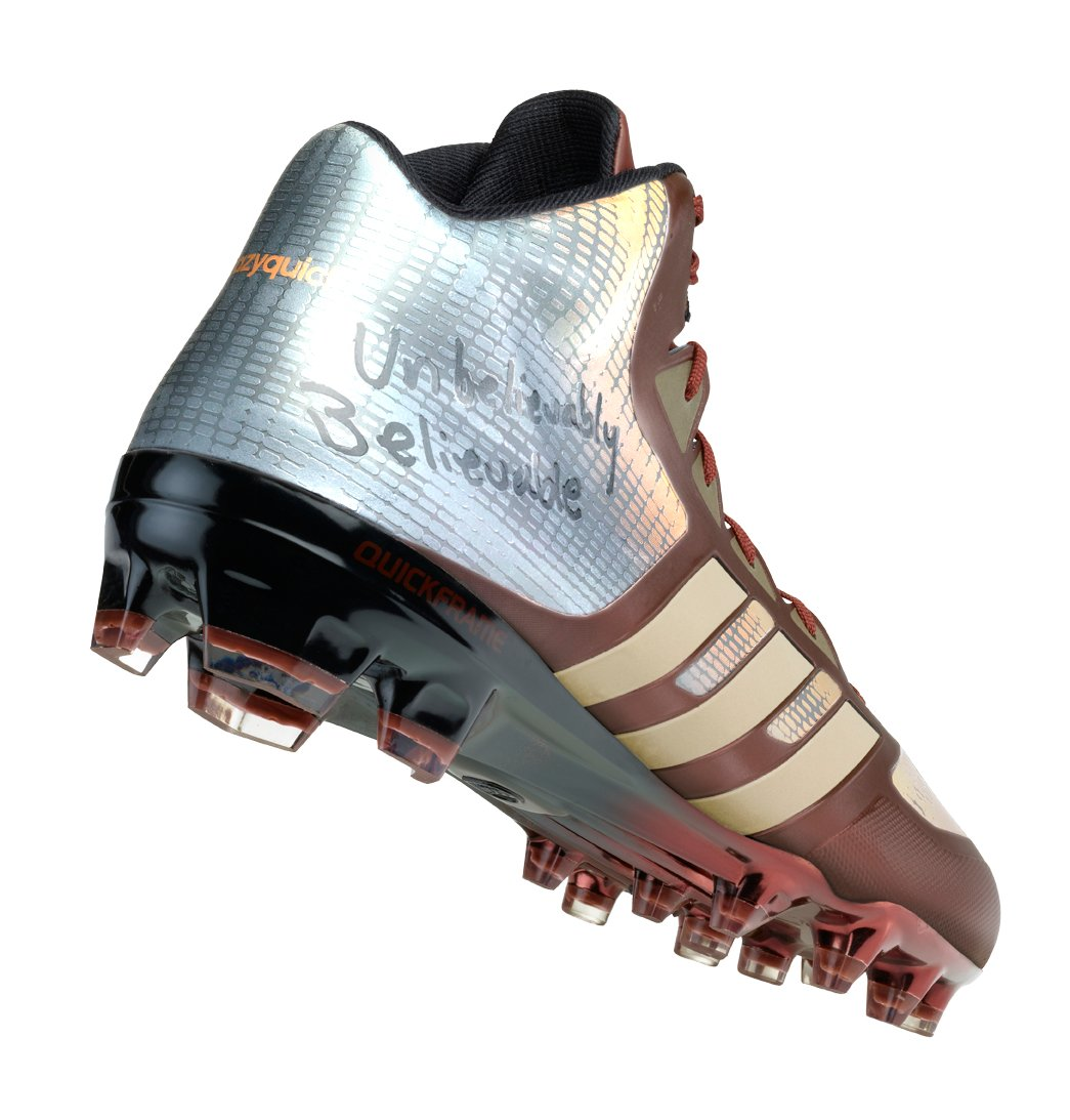RGIII Previews New adidas Cleats Prior to Monday Night Football