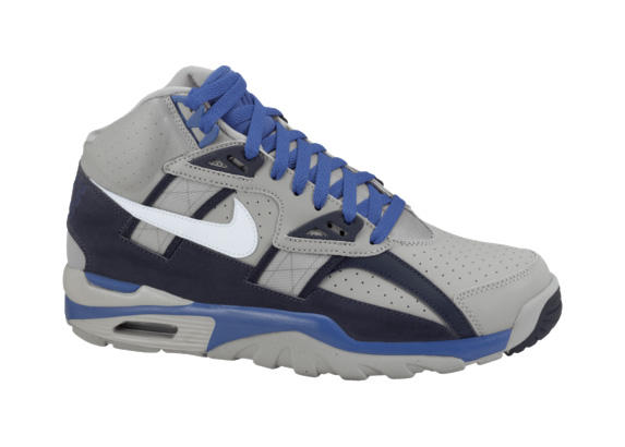 Release Reminder: Nike Air Trainer SC High 'Medium Grey/White-Obsidian-Game Royal'
