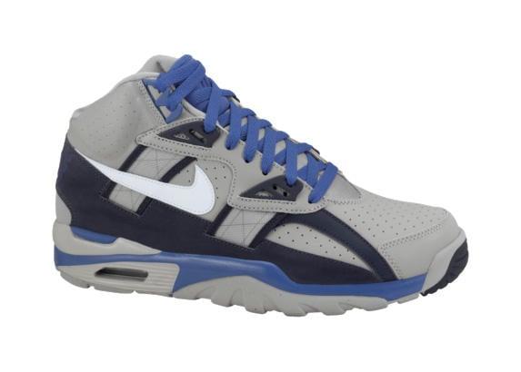 Release Reminder: Nike Air Trainer SC High 'Medium Grey/White-Obsidian-Game Royal'