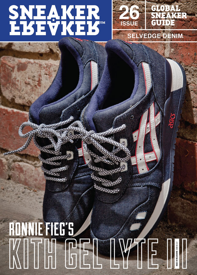 Sneaker Freaker Previews the Ronnie Fieg x ASICS Gel Lyte III 'Selvedge Denim'