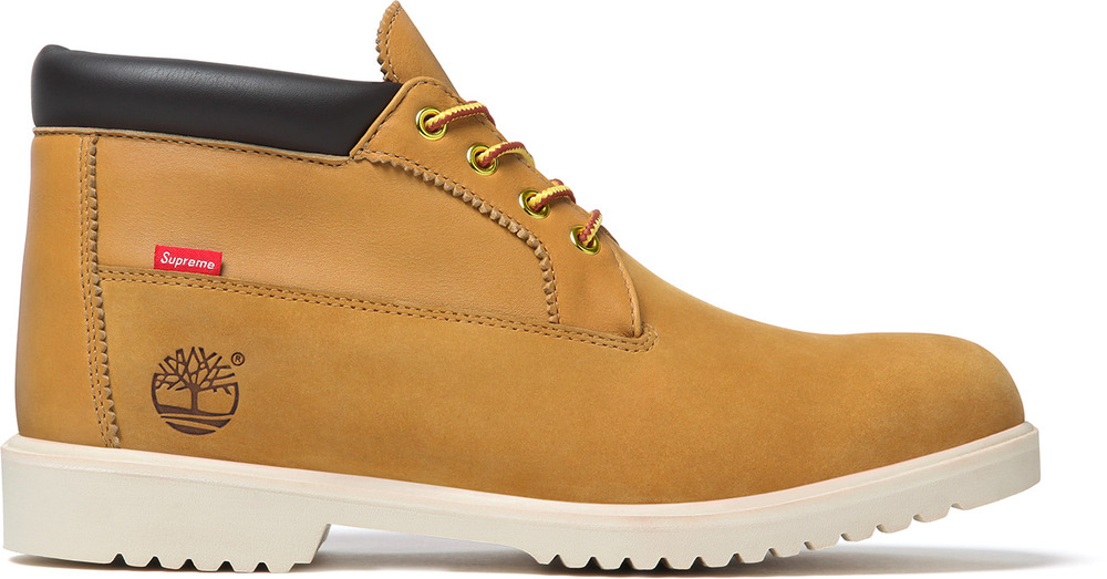Release Reminder: Supreme x Timberland Waterproof Chukka Boot 'Wheat'