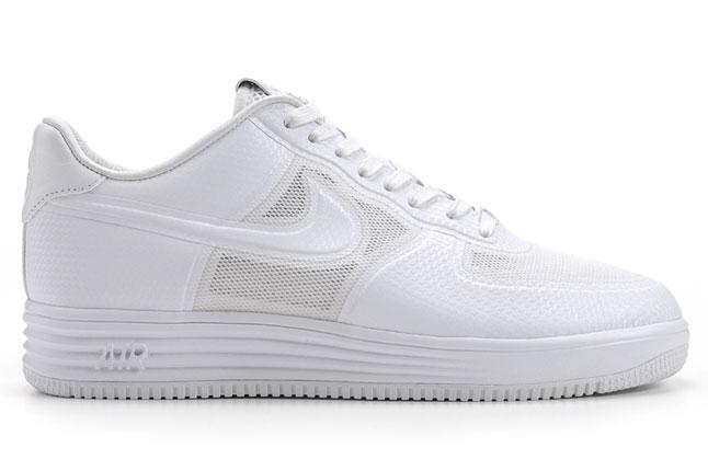 Release Reminder: Nike Lunar Force 1 Fuse NRG 'White'