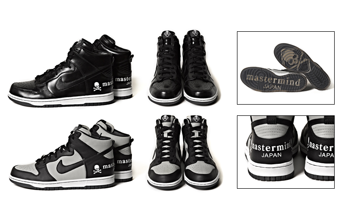 mastermind JAPAN x Nike Dunk High - Holiday 2012