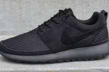 Nike Roshe Run Woven 'Black/Anthracite-Volt'