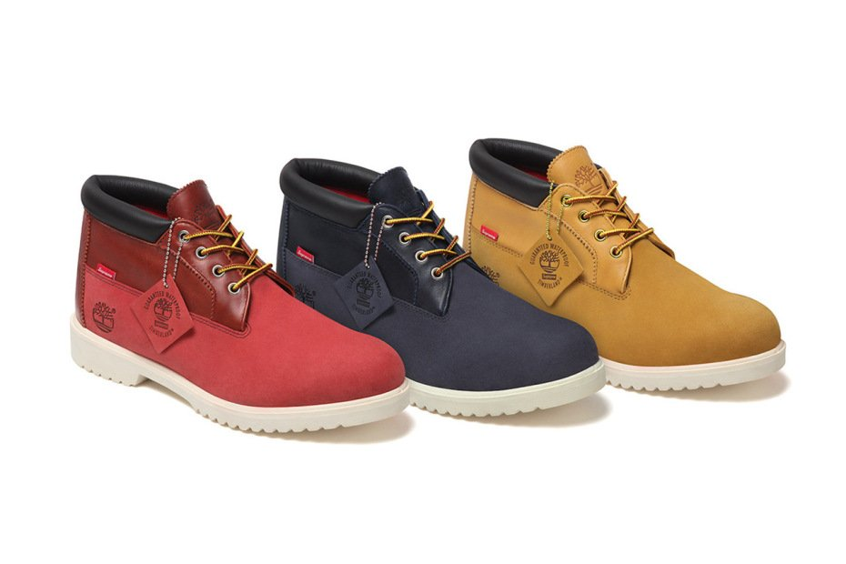 2900a9f440 ... Supreme x Timberland Waterproof Chukka Boot Collection durable service  ...