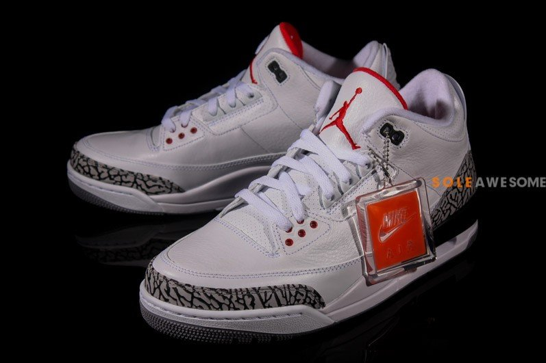 Air Jordan III (3) '88 Retro 'White:Cement' - New Images1