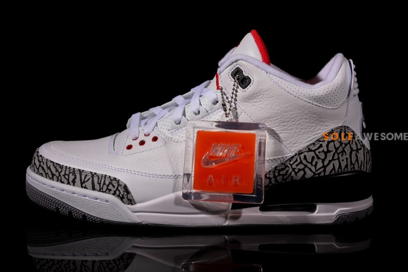 Air Jordan III (3) '88 Retro 'White:Cement' - New Images2