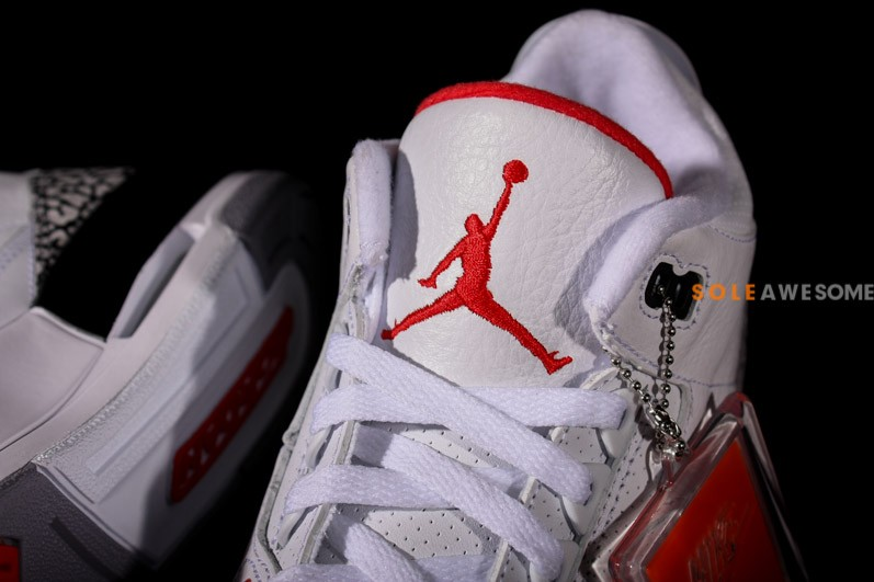 Air Jordan III (3) '88 Retro 'White:Cement' - New Images6