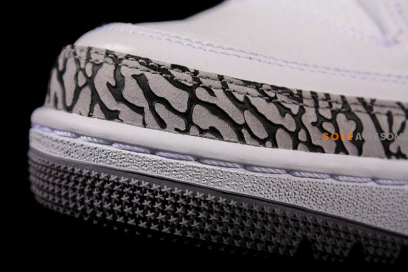 Air Jordan III (3) '88 Retro 'White:Cement' - New Images7