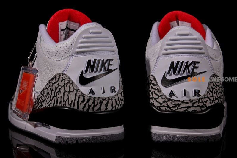 Air Jordan III (3) '88 Retro 'White:Cement' - New Images8