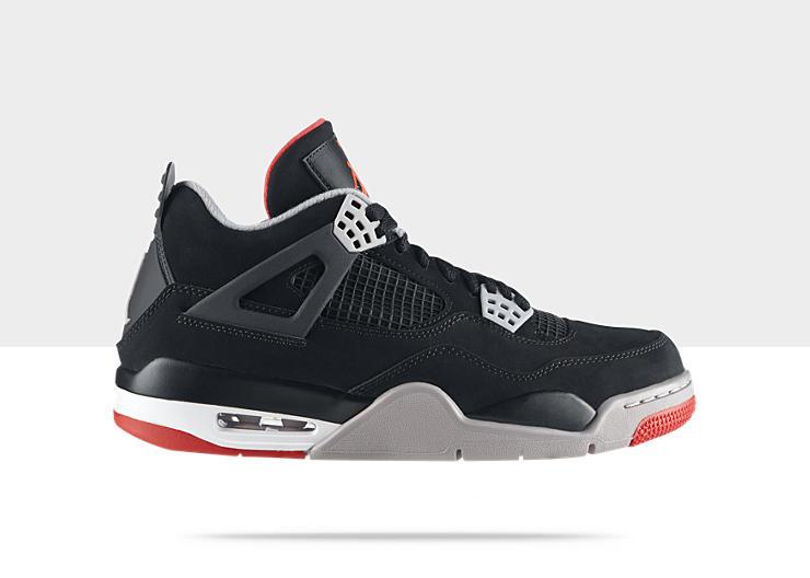 Air Jordan IV (4) 'Black:Cement' Restock at NikeStore