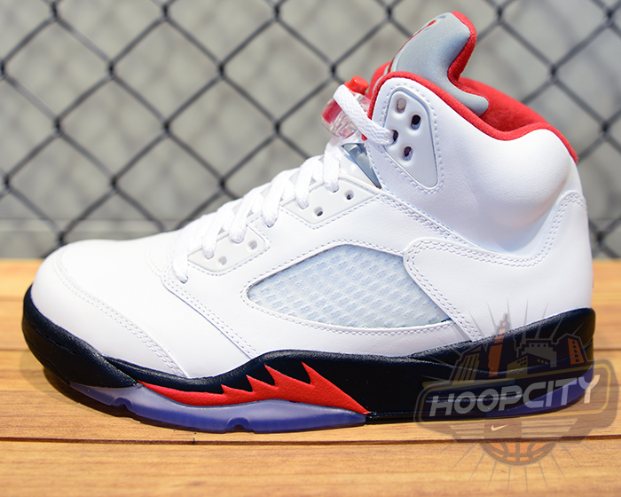 144f6d532e6 Air Jordan V (5) Fire Red New Images 136027-100 | SneakerFiles