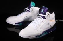 Air Jordan V (5) 'Grape' – New Images