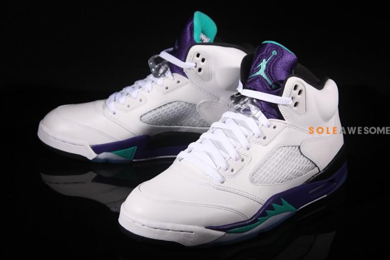 Air Jordan V (5) 'Grape' - New Images1