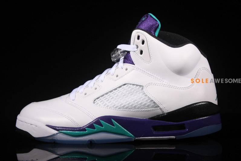 Air Jordan V (5) 'Grape' - New Images2