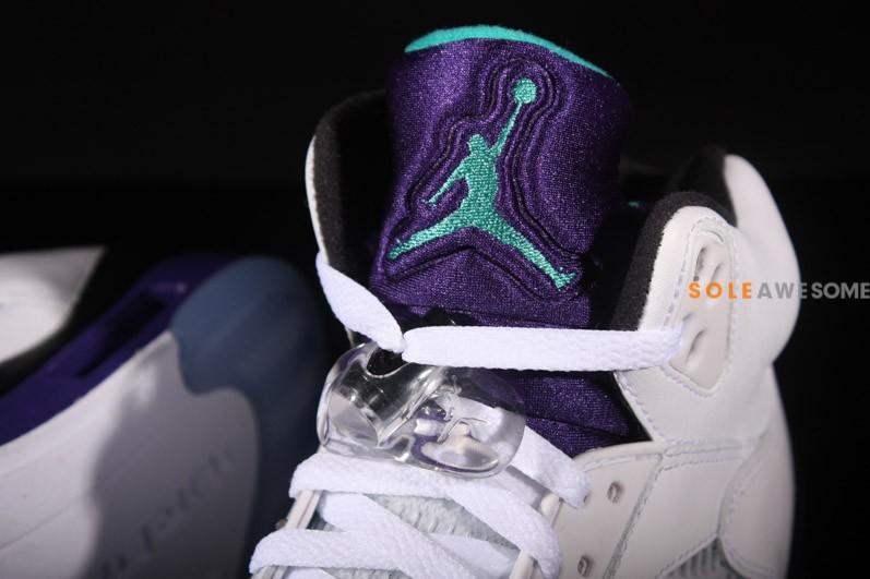 Air Jordan V (5) 'Grape' - New Images6