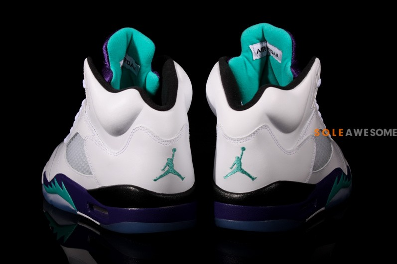 Air Jordan V (5) 'Grape' - New Images7