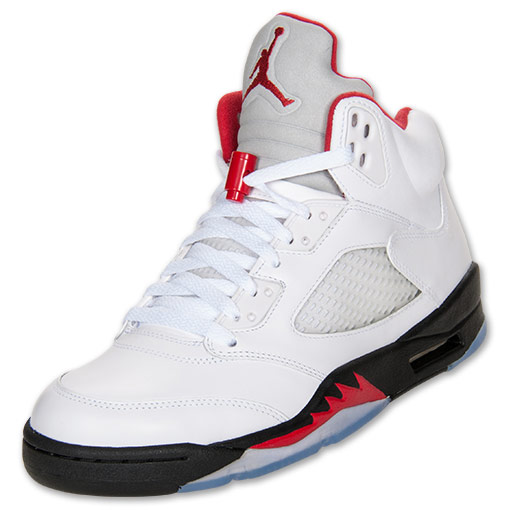 Air Jordan V (5) 'Fire Red' Restock @ Finish Line