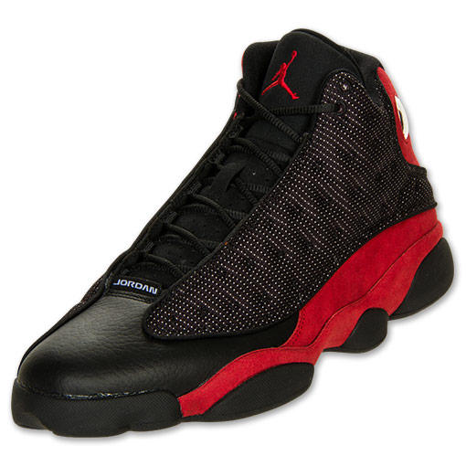 Air Jordan XIII (13) 'Black:Varsity Red-White' @ Finish Line - Release Date + Info
