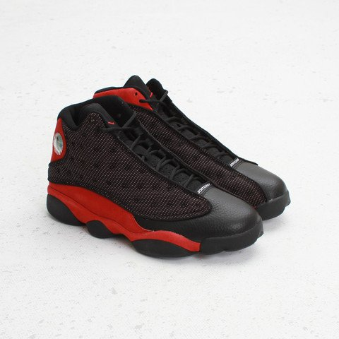 Air Jordan XIII (13) 'Black:Varsity Red-White' at Concepts1