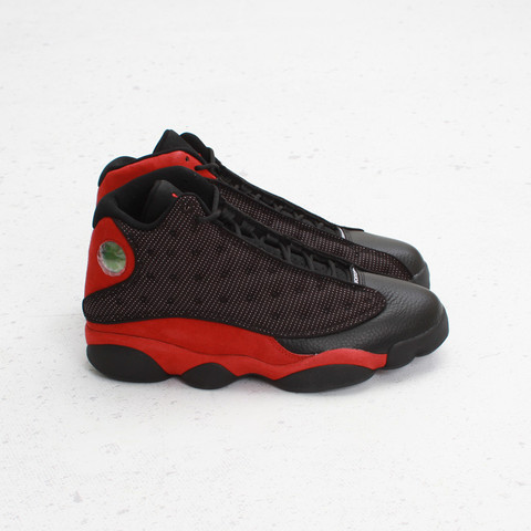 Air Jordan XIII (13) 'Black:Varsity Red-White' at Concepts5