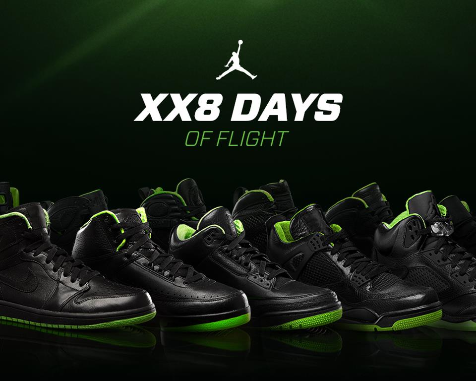 Air Jordan XX8 (28) Days of Flight Contest