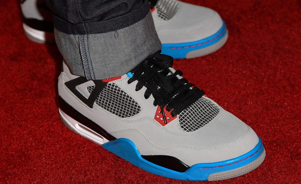 Chris Paul Debuts Brand New Air Jordan IV (4) Colorway1