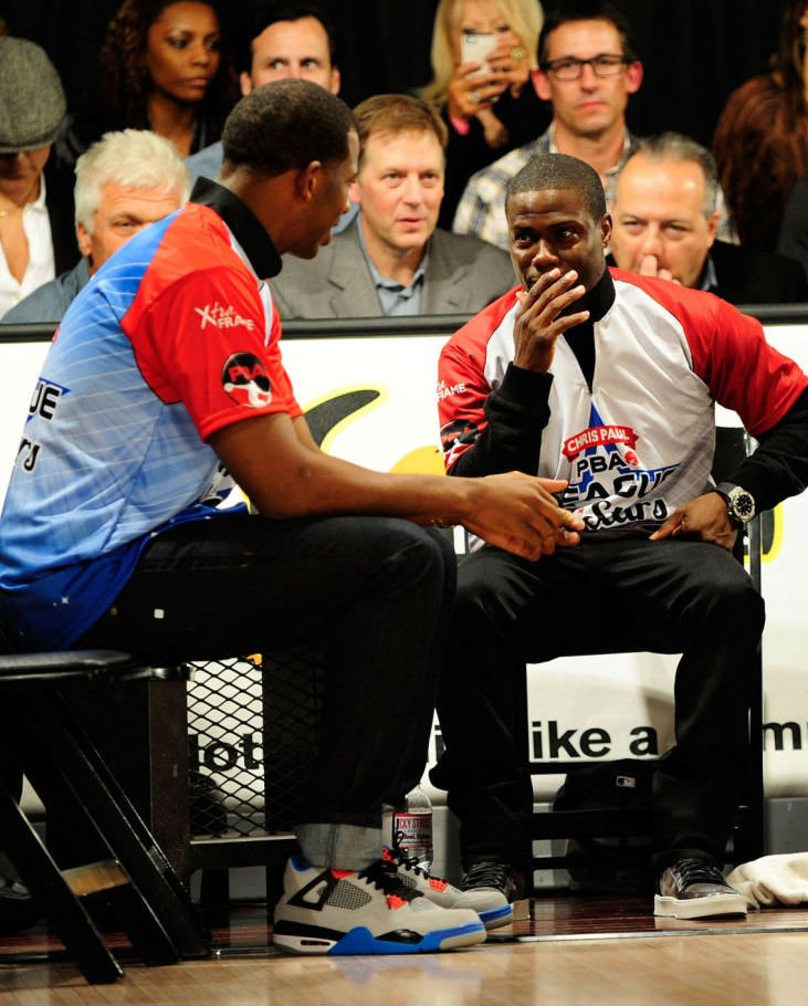 Chris Paul Debuts Brand New Air Jordan IV (4) Colorway3
