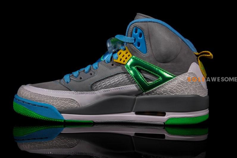 Jordan Spiz'ike 'Cool Grey:Green'4
