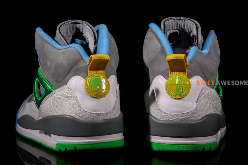 Jordan Spiz'ike 'Cool Grey:Green'8