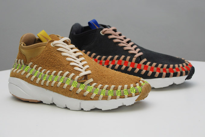 Nike Air Footscape Woven Chukka Knit 'Flat Gold' & 'Night Stadium'1