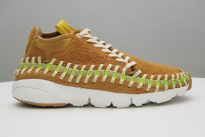 Nike Air Footscape Woven Chukka Knit 'Flat Gold' & 'Night Stadium'2