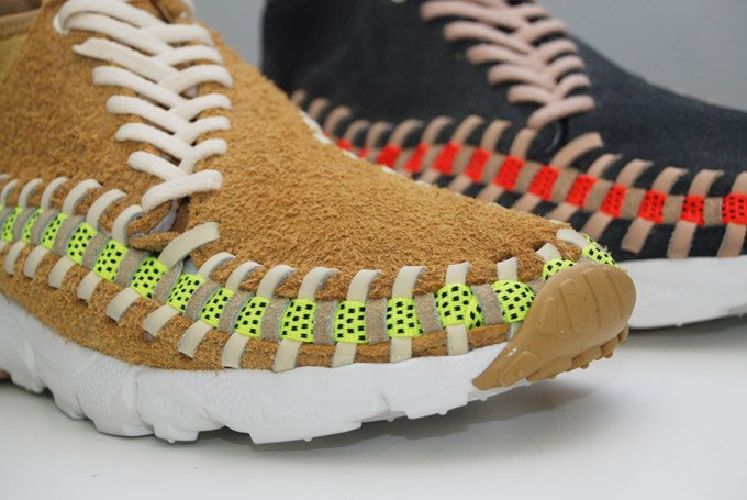 Nike Air Footscape Woven Chukka Knit 'Flat Gold' & 'Night Stadium'4
