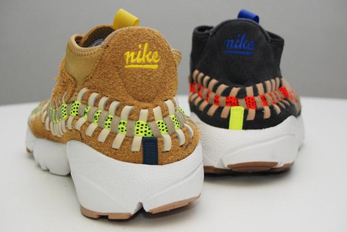 Nike Air Footscape Woven Chukka Knit 'Flat Gold' & 'Night Stadium'6