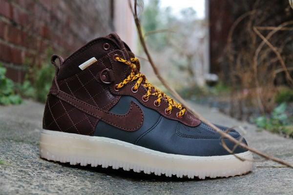 Nike Air Force 1 Duckboot Black Dark Field Brown