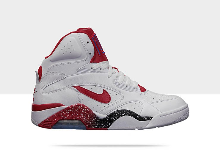 Nike Air Force 180 High 'WhiteHyper Red Photo Blue