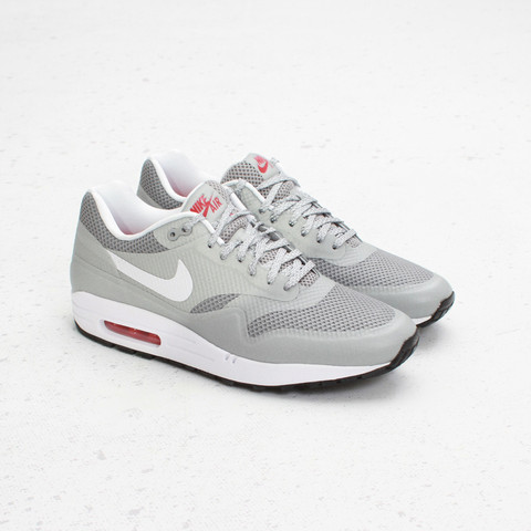 Nike Air Max 1 Fuse 'Matte Silver:White-University Red'