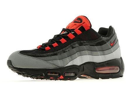 Nike Air Max 95 'Wolf Grey:Universal Red' JD Sports Exclusive