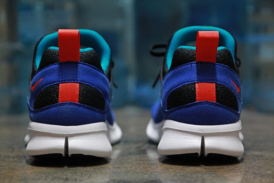 Nike Free Huarache Light 'Black:Team Orange-Concord' at Primitive2