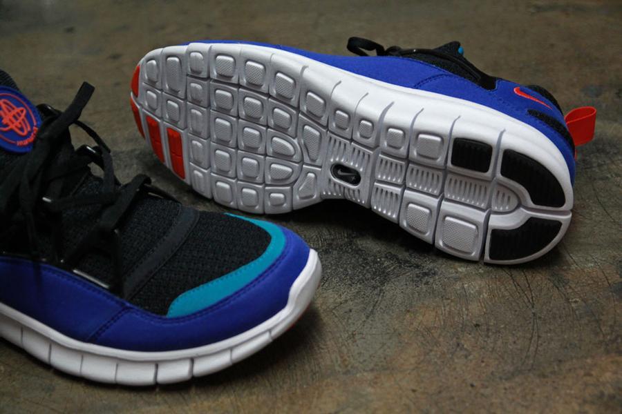 Nike Free Huarache Light 'Black:Team Orange-Concord' at Primitive5