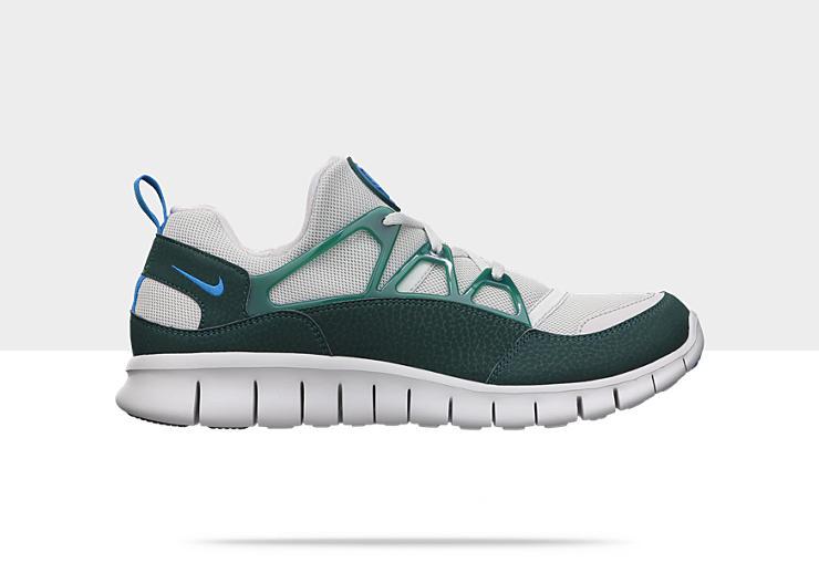 Nike Free Huarache Light 'Neutral Grey:Photo Blue-Dark Atomic Teal'