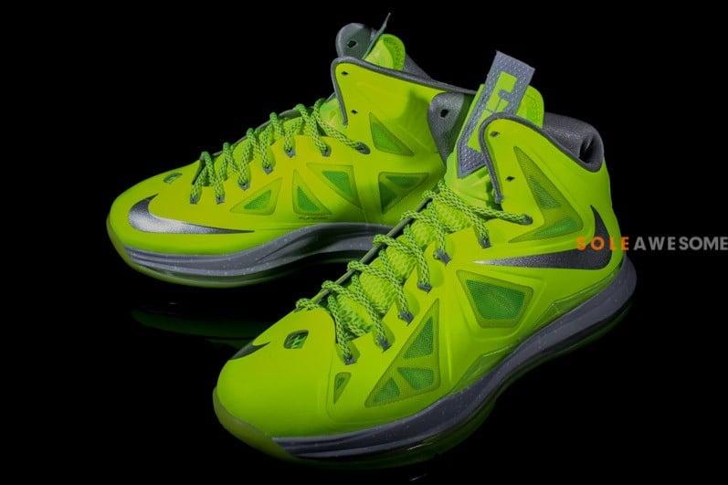 best service 8d239 2ba30 Nike LeBron X (10)  Volt  - New Images1