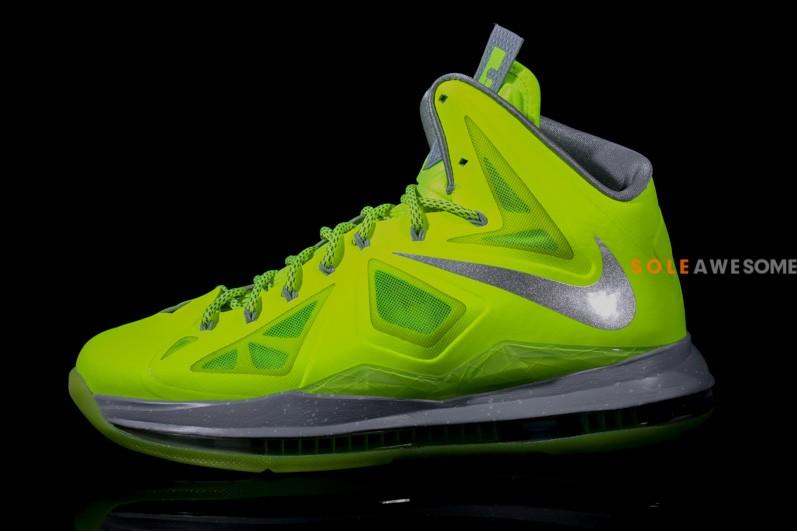 Nike LeBron X (10) 'Volt' - New Images2