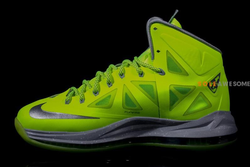 Nike LeBron X (10) 'Volt' - New Images4