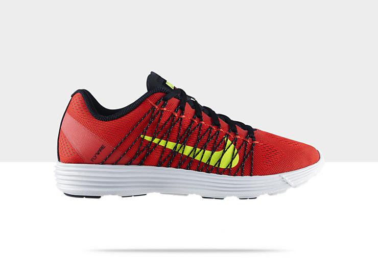 Nike Lunaracer+ 3 'Pimento:Volt-Black-Pro Platinum'