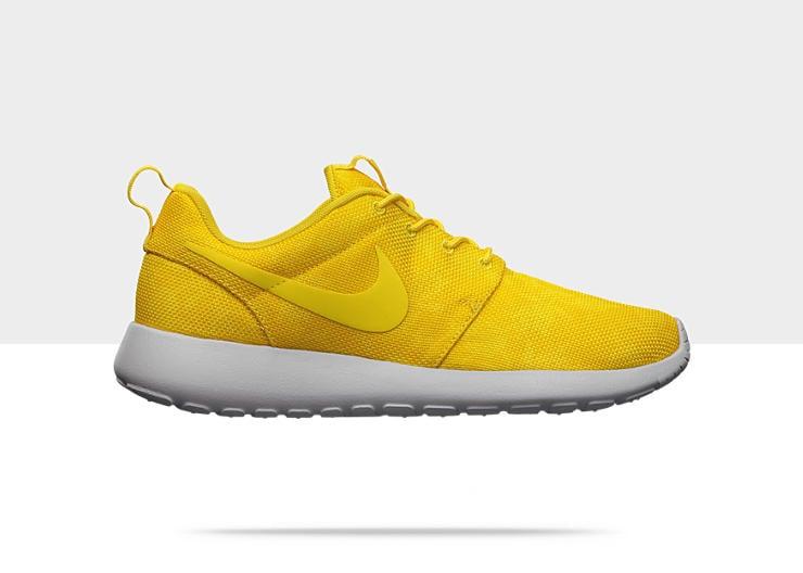 newest 575ae 7cf7b Nike Roshe Run Graphic Vivid SulfurTour Yellow-Strata Grey